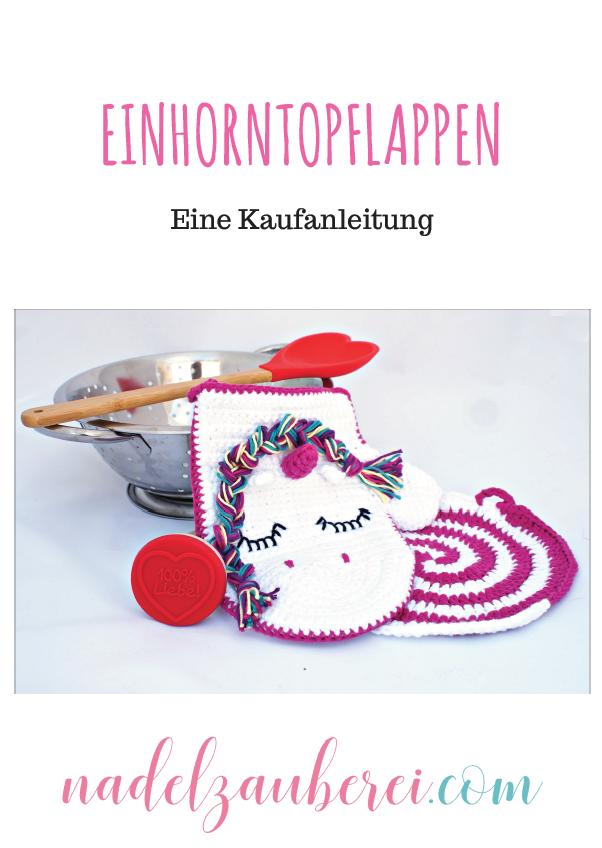 Einhorn-Topflappen Kaufanleitung